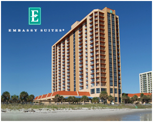 Emby Suites Myrtle Beach Hotel Property Description Kingston Plantation
